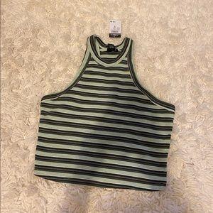 PASTEL // baby green tank